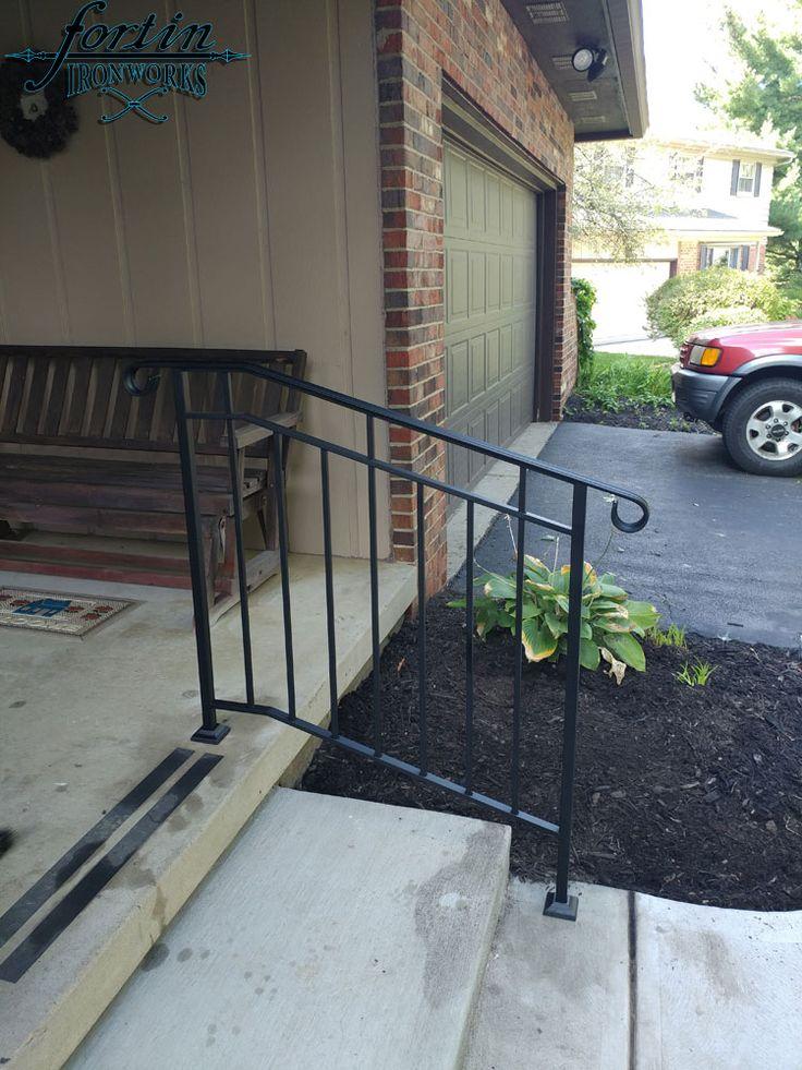 Exterior Wrought Iron Handrails in Columbus, Ohio