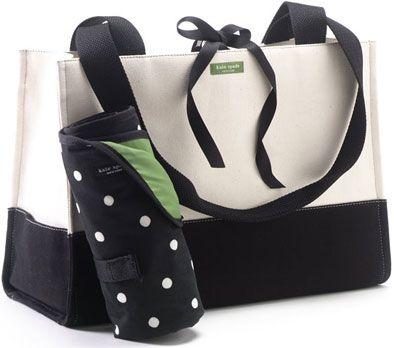 Kate Spade diaper bag?! Yes, please!