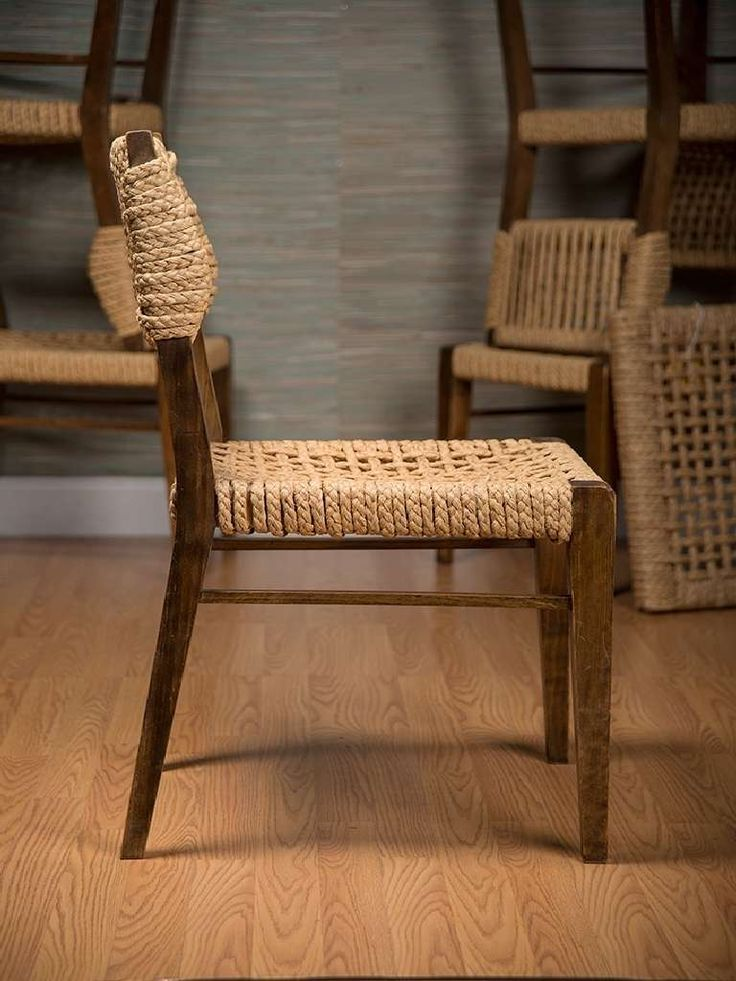 vintage wood dining chairsset of six vintage
