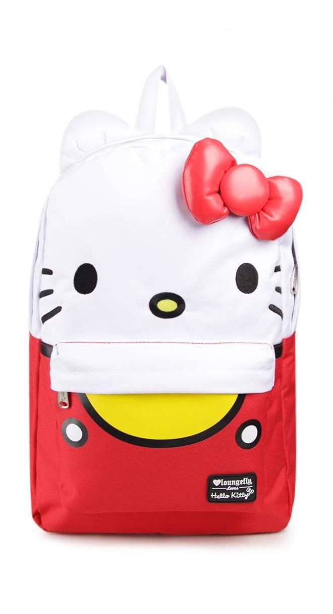 It's no wonder the 3D backpacks are so popular with Hello Kitty fans - they are totally adorable!