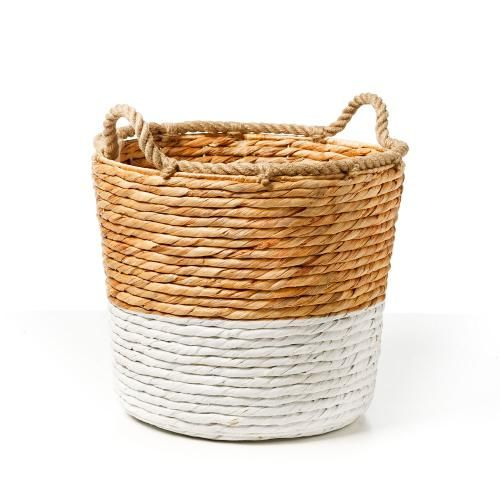 Home Republic San Lucas Baskets White - - Adairs online