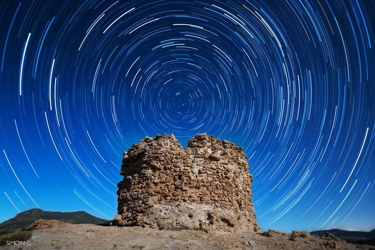 Nuraghe Under The Ancient Stars © by Simon Regini on 500px