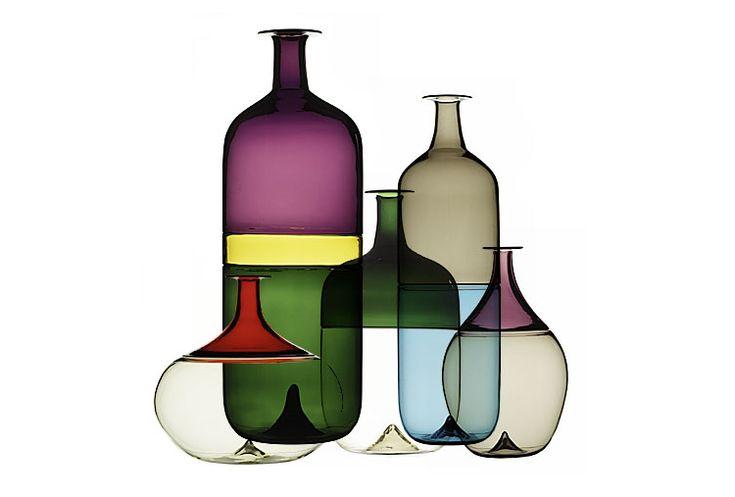 Bolle Bottles by Tapio Wirkkala for Venini « The Mid-Century Modernist