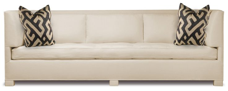 Buy Van Day Three-Seat Sofa by Truex American Furniture - Limited Edition designer Furniture from Dering Hall's collection of Mid-Century / Modern Traditional Transitional Sofas & Sectionals.