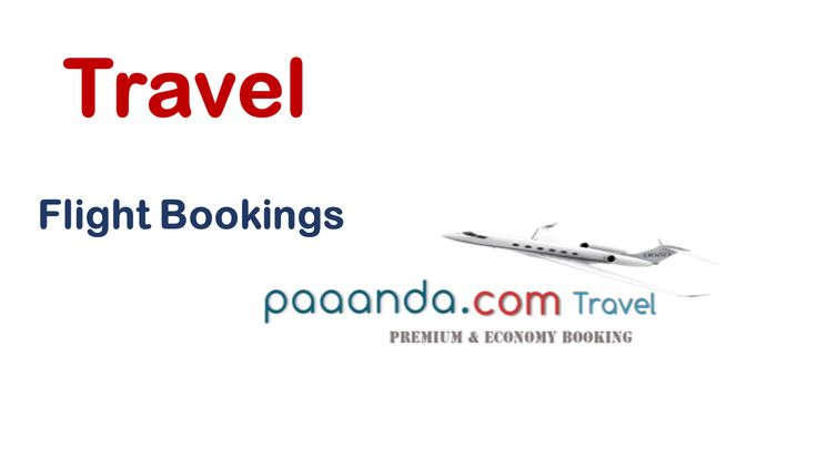 Local and international flight bookings. No need to stand in long queues...
