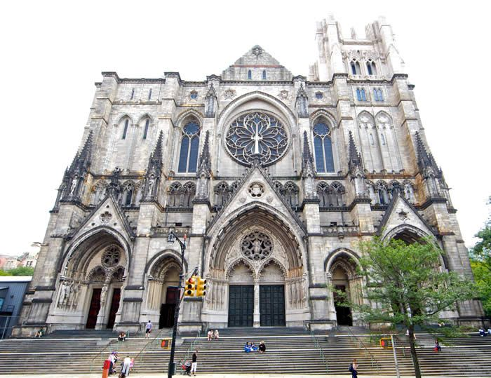 The Cathedral Church of St. John the Divine, NYC. I sang here when I was in high school- so so beautiful!