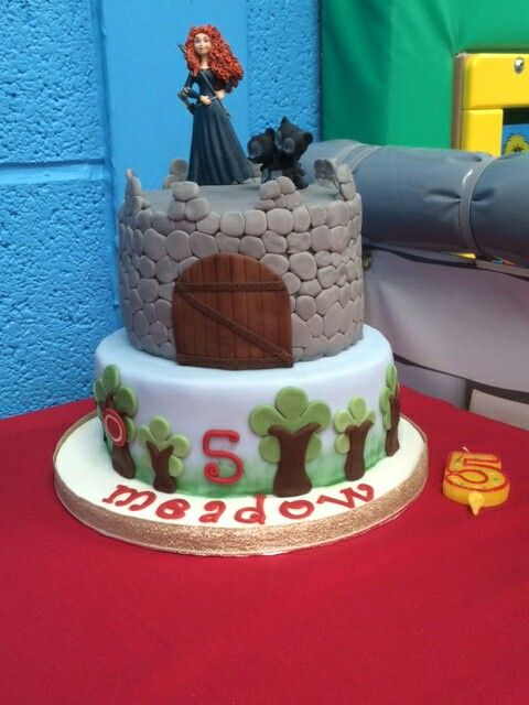 Disney's Brave - Merida Cake #Cakesbypotts