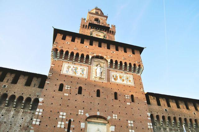 Itália - Milão - Castello Sforzesco