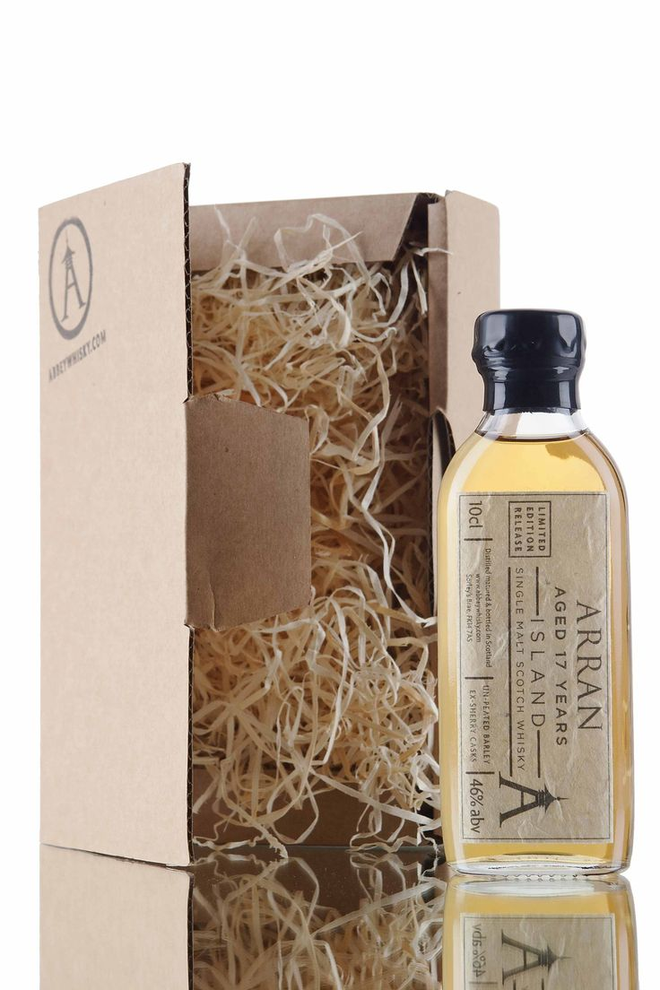 Now available to try as a 10cl whisky sample, is this limited edition Scotch whisky from Arran distillery. Produced from un-peated malted barley and aged for 17 years in casks that previously held Spanish sherry. A 10cl whisky sample, the perfect gift or stocking filler this Christmas.