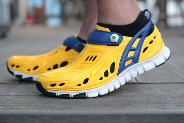 Recyclable Barefoot Trainers - Crosskix Put a Strong Focus on Function, Fitness and Comfort (GALLERY)