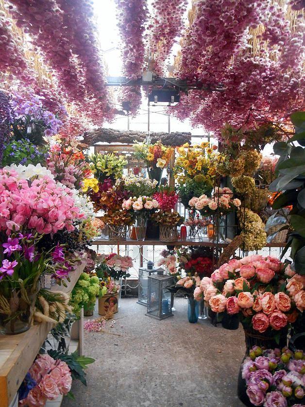 Mercado de flores en Amsterdam