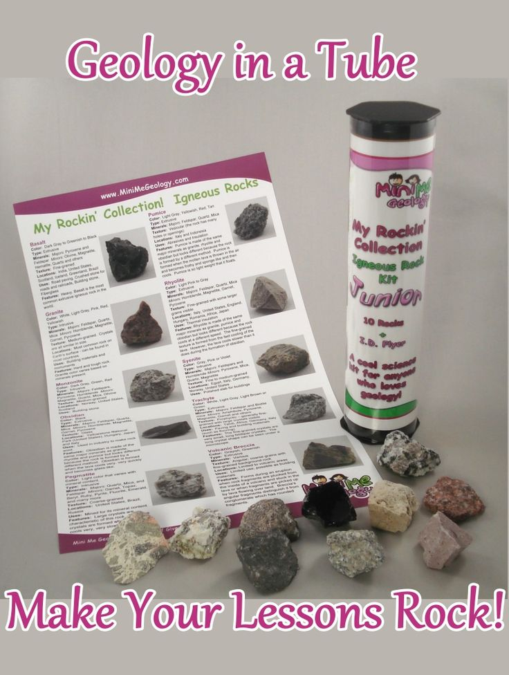 Rocks & Minerals Elementary Science Lesson + Project