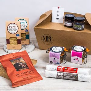 Xl British Charcuterie Gift Box Thinking Of You Gifts