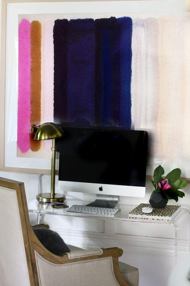 New Desk + New Art + New Attitude