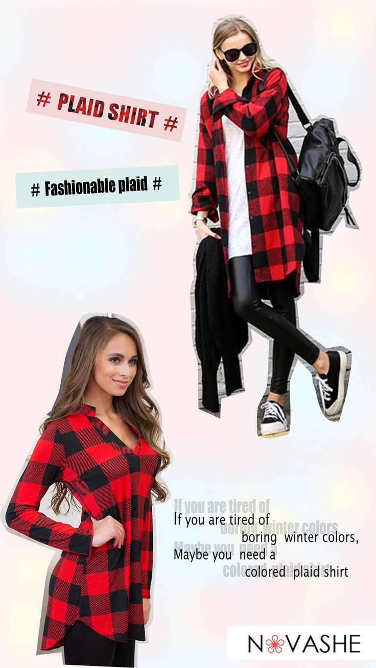 2017 Red Plaid Shirt Sale