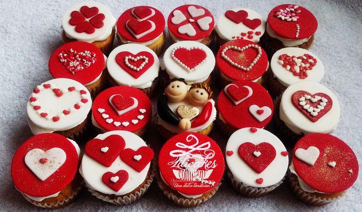 Love cupckes Cupcakes de amor Cupckes de corazones