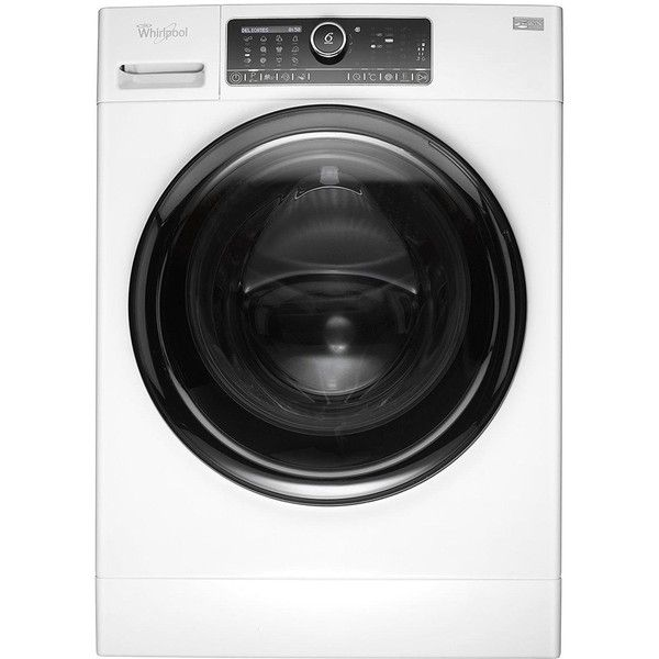 Whirlpool Supreme Care Premium Fscr10432 10Kg Load, 1400 Spin Washing... ($790) ❤ liked on Polyvore featuring home, home improvement and cleaning