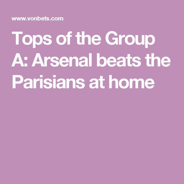 Tops of the Group A: Arsenal beats the Parisians at home