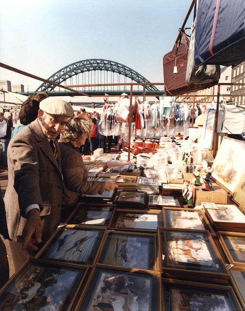 Quayside Market Newcastle upon Tyne 1966