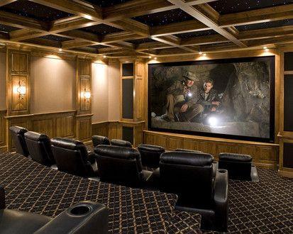 Movie Theater, Traditional Media Room, Minneapolis