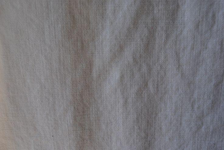 Pebble Wash White 100% cotton - 135cm
