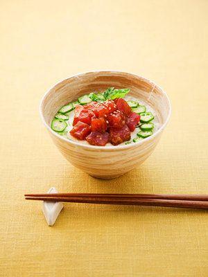 【ELLE a table】しょうゆ麹のまぐろ山かけ丼レシピ|エル・オンライン