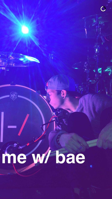 josh + drums = <3