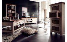 Jedinečný nábytek do obývacího pokoje a jídelny zpracovaný v tradičním francouzském venkovském stylu. Ruční řemeslné zpracování, příjemné oblé hrany a rohy, lehce obroušený povrch a všechny části z masivního dřeva. Více: http://goo.gl/ReScHc
