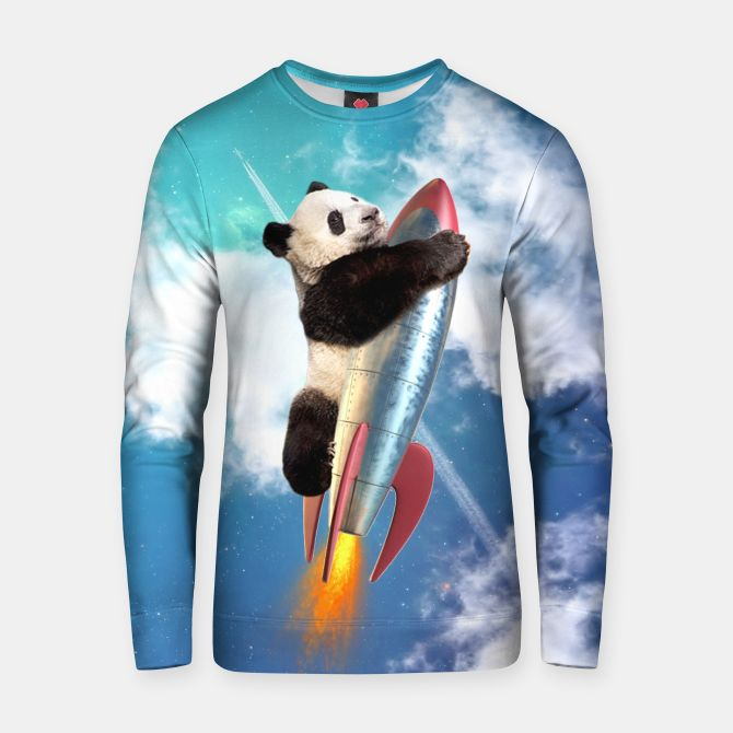Fly Panda Fly Cotton sweater, Live Heroes