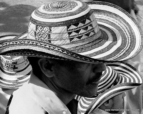 Vueltiao Hats at Barranquilla Carnival, Colombia