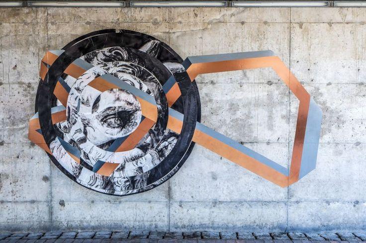 Garages get street art