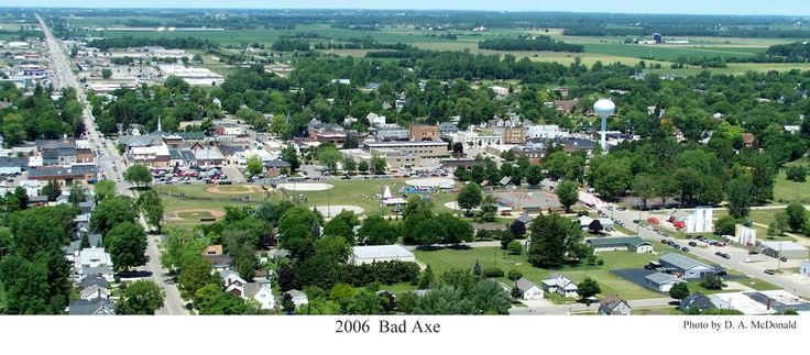 Bad Axe Michigan, one of my favorite towns in Michigan's thumb!