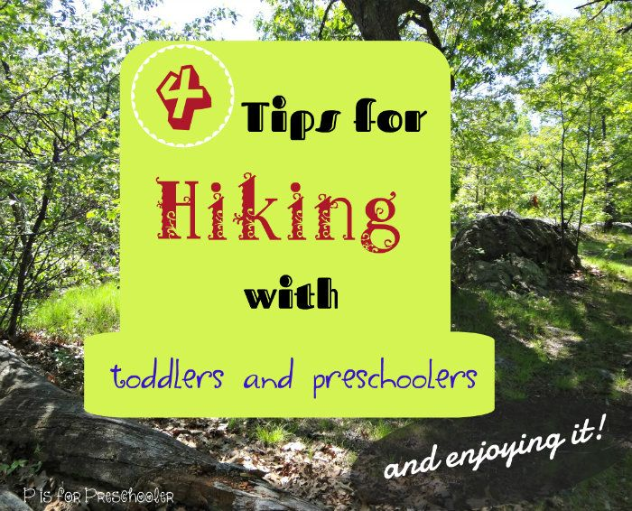 Surviving - and enjoying - a hike with young children