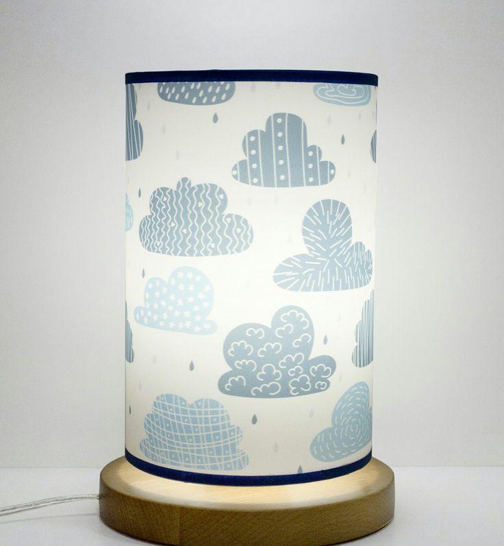 Lampa stojąca nocna - Chmury idealna do pokoju dziecka www.fotolampy.pl #fotolampy #chmury #lampa #dla #dziecka #pokoj #dzieciecy #wystroj #wnetrz #design #projekt #stojąca #nocna #lampka