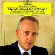 Johannes Brahms Claudio Abbado Maurizio Pollini 「ドイツ・グラモフォン・ベスト100」に続く強力ラインナップ、まさに『定盤』で構成されたシリーズです。クライバーのベートーヴェン5番&7番、ポリーニのショパンのエチュードを筆頭に、カラヤン、アルゲリッチ、マイスキー、アバド、ムター、ブーレーズら、DGの豪華な顔ぶれによる名盤中の名盤が揃っています。 ブラームス:ピアノ協奏曲第2番変ロ長調作品83 マウリツィオ・ポリーニ(ピアノ) ベルリン・フィルハーモニー管弦楽団 指揮:クラウディオ・アバド 録音:1995年12月、ベルリン(ライヴ・レコーディング)
