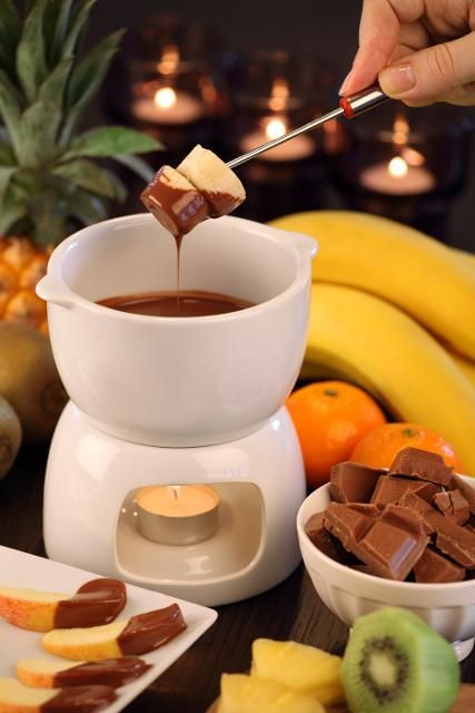 Schokoladen Fondue