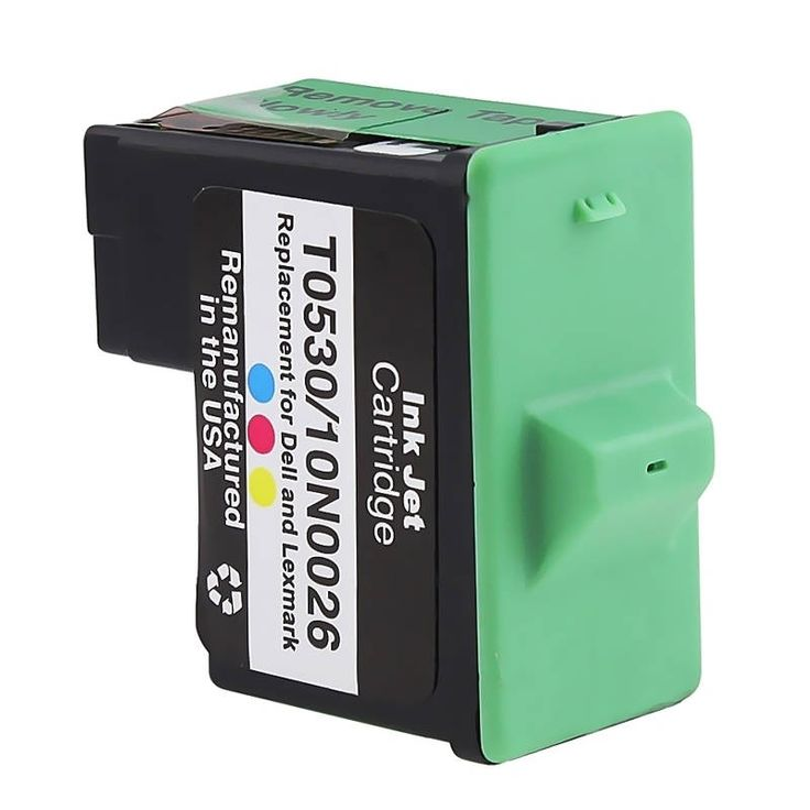Insten Color Remanufactured Ink Cartridge Replacement for Lexmark 26/ 27 #1417820