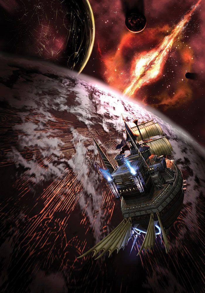[Rogue Galaxy] Dorgenark in space
