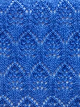 Lace Knitting Stitch Pattern More