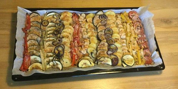 Grilovaná domácí zelenina
