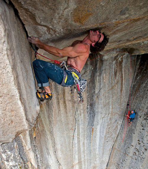 Cedar Wright On The Gravity Ceiling 5 13a Yosemite
