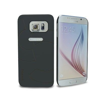 Smaak™ Sleek Ultra Thin PC Case  for Galaxy S6 - Black.  For more info visit www.ismaak.com