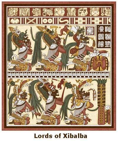 "Xibalba, Mayan underworld. Translates to, ""Place of Fear""."