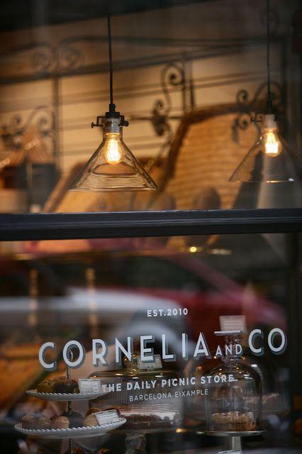 Restaurante «Cornelia and Co.», Barcelona, España. Recomendado por si algún día pasan por allí.