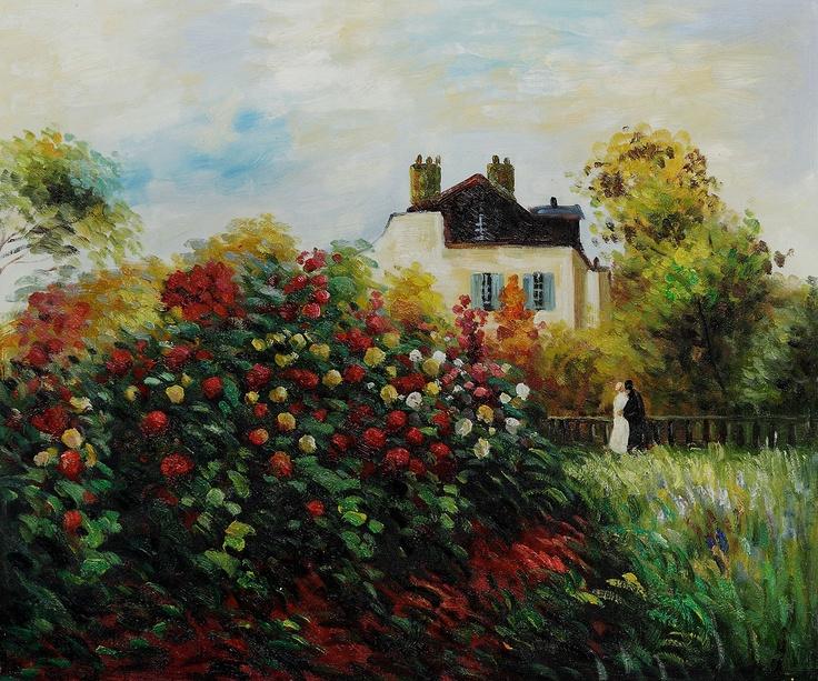 Claude Monet - The Artist's Garden