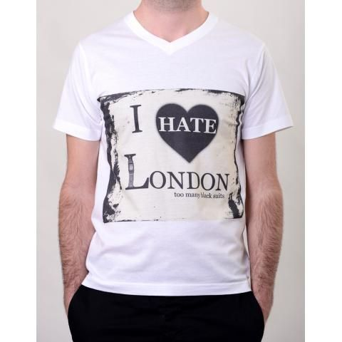 I Hate London T-Shirt | The Boutique
