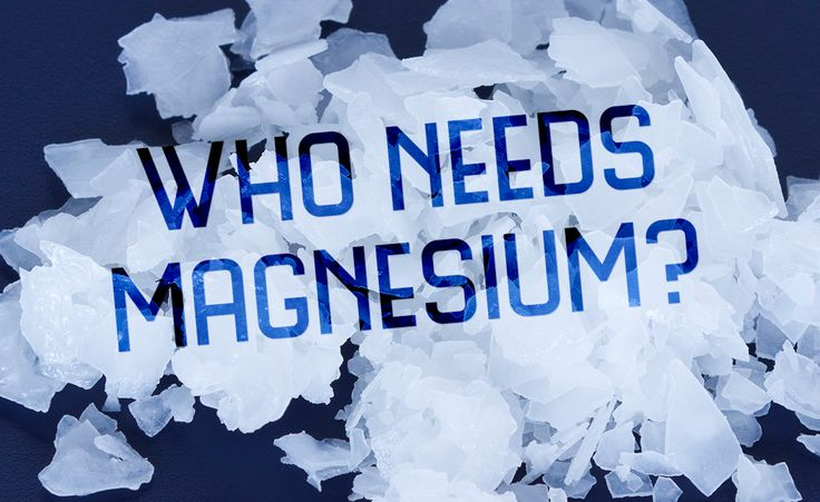You can reap many benefits of magnesium by absorbing it transdermally, by foot soaking or bathing with dissolved magnesium chloride hexahydrate salt flakes.