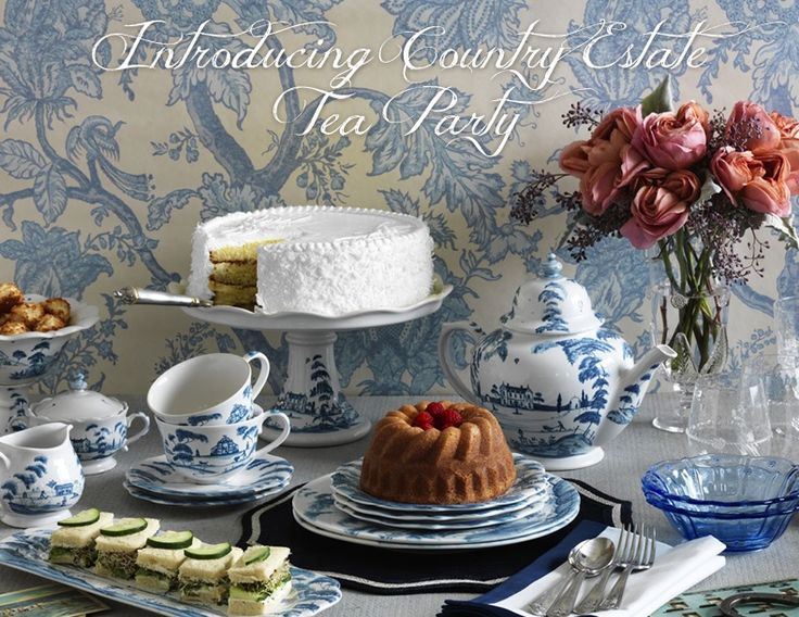 Pinkies up! Shop our new Country Estate Tea Party extension pieces