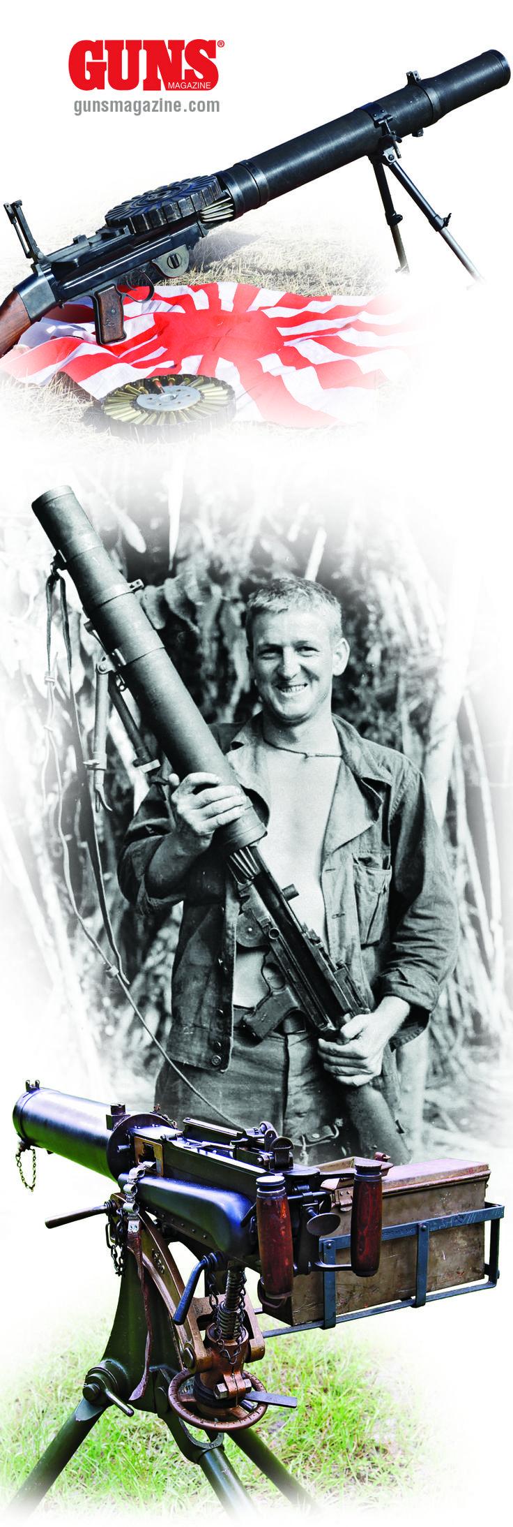 best light machine gun in the world