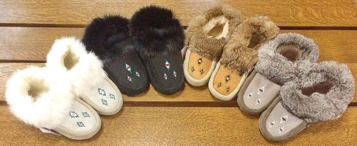 Laurentian Chief Ladies Sheepskin Slippers